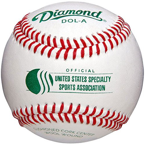 Diamond DOL-A USSSA Official Leather Baseballs (Dozen)