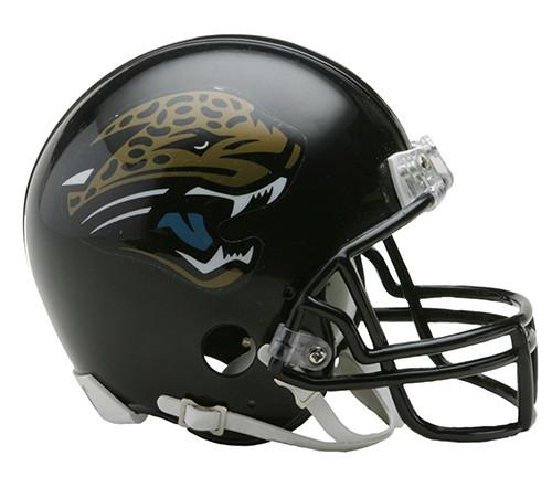 Jacksonville Jaguars 1995-2012 Throwback Riddell Mini Helmet