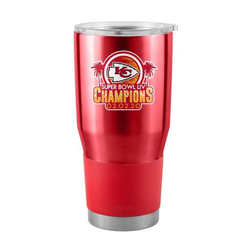 Kansas City Chiefs Red Super Bowl LIV Champions 30 oz. Curved Ultra Tumbler