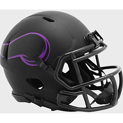 Minnesota Vikings 2020 Black Revolution Speed Mini Football Helmet