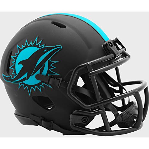 Miami Dolphins 2020 Black Revolution Speed Mini Football Helmet
