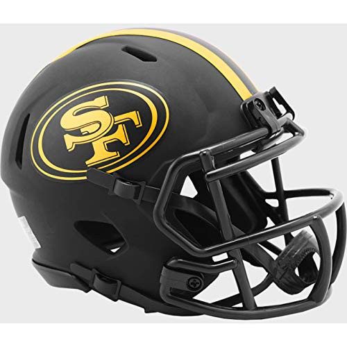 San Francisco 49ers 2020 Black Revolution Speed Mini Football Helmet
