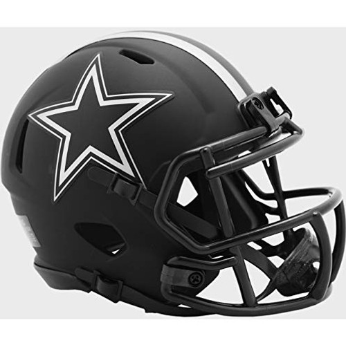 Dallas Cowboys 2020 Black Revolution Speed Mini Football Helmet