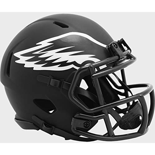 Philadelphia Eagles 2020 Black Revolution Speed Mini Football Helmet
