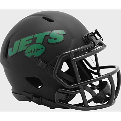 New York Jets 2020 Black Revolution Speed Mini Football Helmet