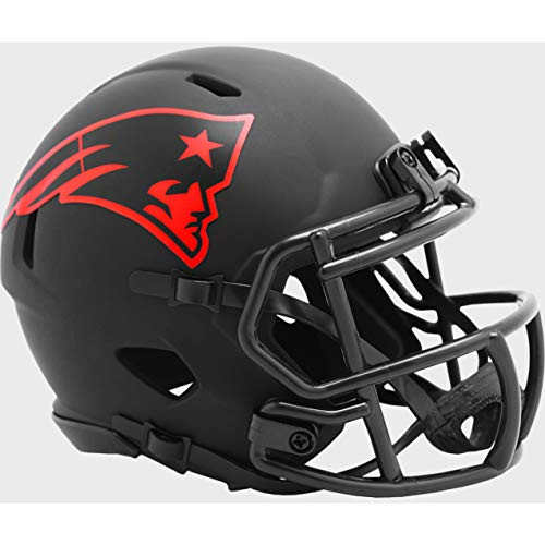 New England Patriots 2020 Black Revolution Speed Mini Football Helmet