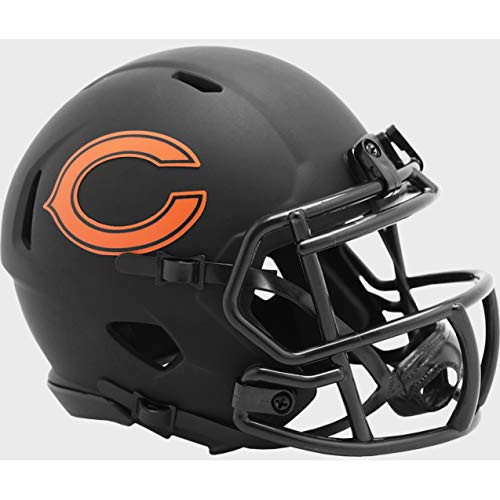 Chicago Bears 2020 Black Revolution Speed Mini Football Helmet