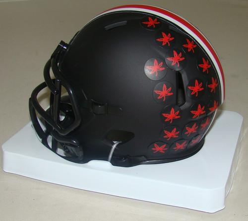 Ohio State Buckeyes 2020 Black Revolution Speed Mini Football Helmet