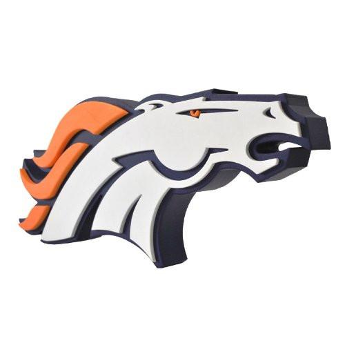 Denver Broncos 3D Fan Foam Logo Sign