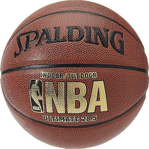 NBA Ultimate Intermediate 28.5-Inch Indoor/Outdoor Composite Basketball