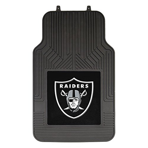 "Las Vegas Raiders NFL Car Front Floor Mat Set 22.5"" x 17.5"""
