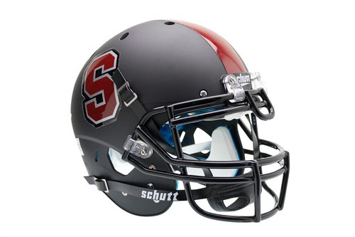 Stanford Cardinal Alternate Black Schutt Full Size Authentic Helmet
