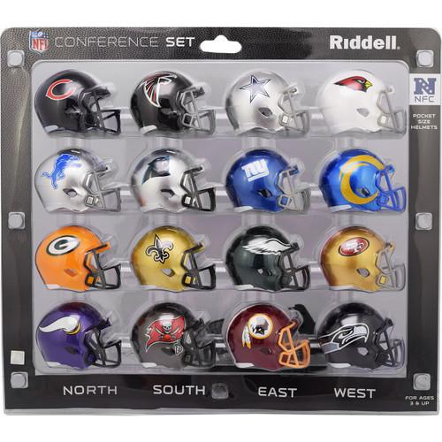 2020 NFC Conference Pocket Pro Helmet Set