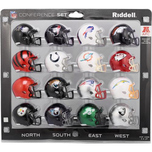 2020 AFC Conference Pocket Pro Helmet Set
