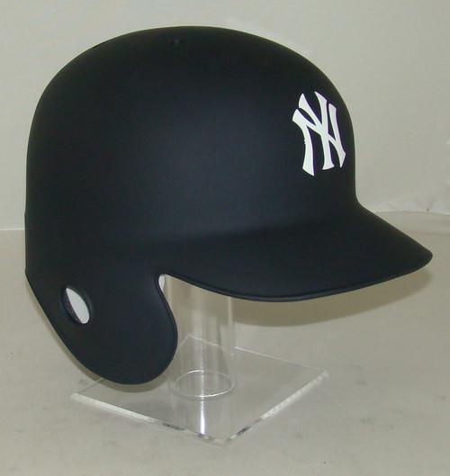 New York Yankees Matte Navy Rawlings REC Full Size Baseball Batting Helmet
