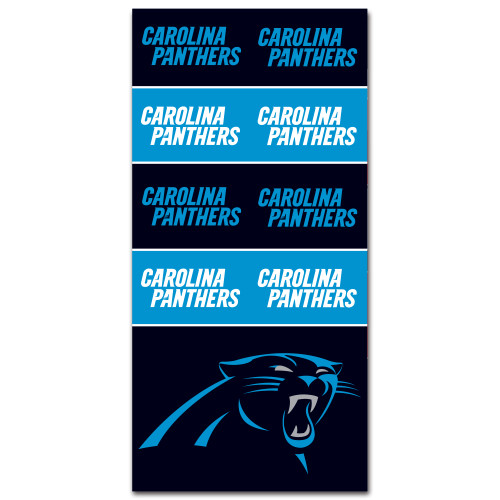 Carolina Panthers NFL Bandana Superdana Neck Gaiter Face Guard Mask