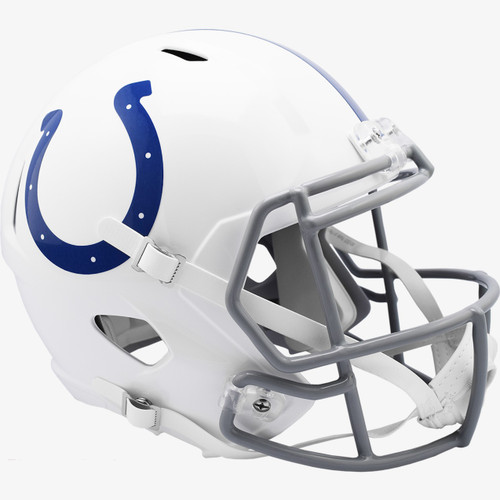 Indianapolis Colts New 2020 SPEED Riddell Full Size Replica Football Helmet