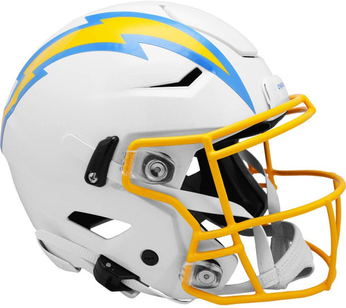 Los Angeles Chargers NEW 2020 SpeedFlex Riddell Full Size Authentic Football Helmet - Speed Flex