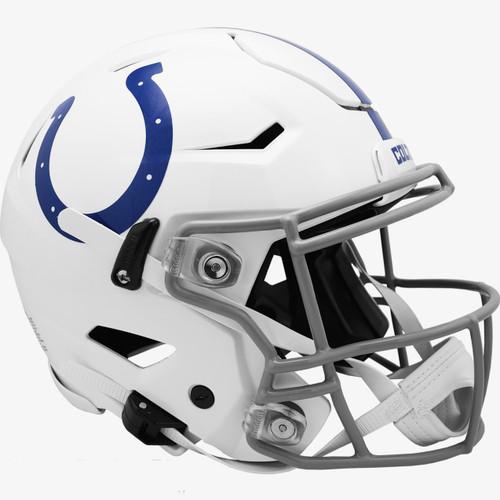 Indianapolis Colts NEW 2020 SpeedFlex Riddell Full Size Authentic Football Helmet - Speed Flex