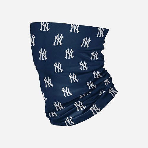 New York Yankees MLB Neck Gaiter Mini Logo Scarf Face Guard Mask Head Covering