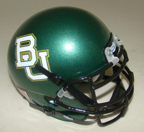 Baylor Bears (GREEN) Schutt Mini Authentic Helmet