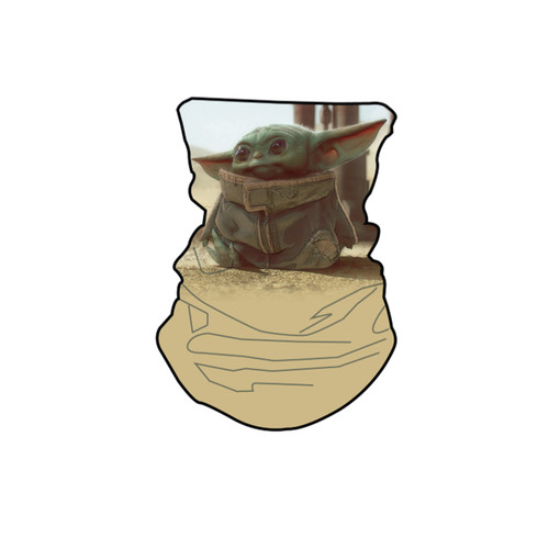 Disney Star Wars Baby Yoda Neck Gaiter Scarf Face Guard Mask Head Covering