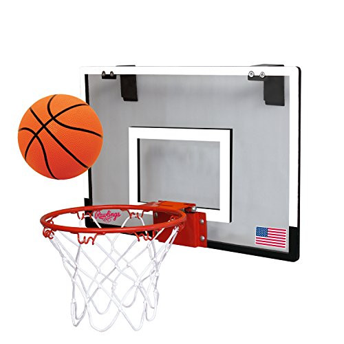 Rawlings Sporting Goods Game On Slam Dunk Mini Basketball Backboard Hoop Set