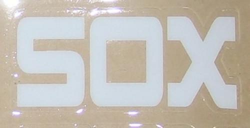 CHICAGO WHITE SOX 1980's MLB Full Size Baseball Batting Helmet 3M Sticker Decal