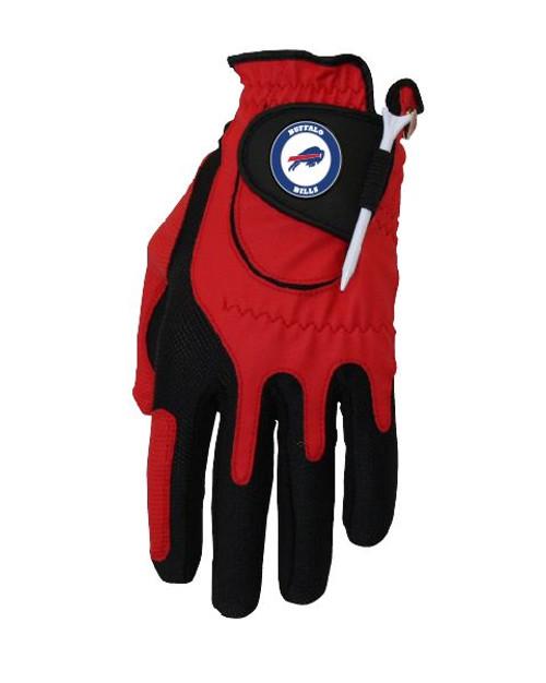 Zero Friction NFL Buffalo Bills Red Golf Glove, Left Hand