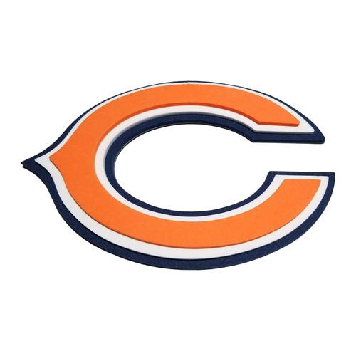 Chicago Bears EVA Foam 3D NFL Magnet