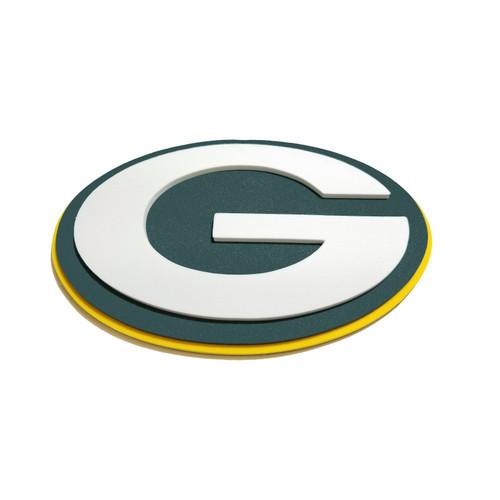 Green Bay Packers EVA Foam 3D NFL Magnet