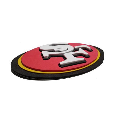 San Francisco 49ers EVA Foam 3D NFL Magnet