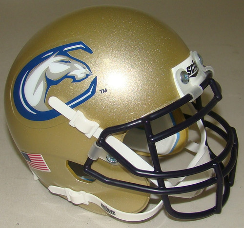 UC Davis Aggies NCAA Schutt Mini Authentic Football Helmet