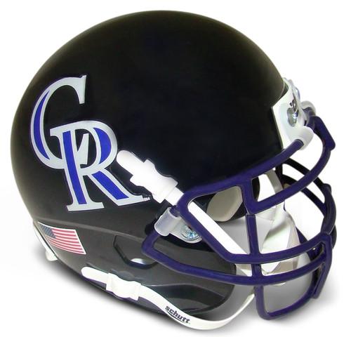 Colorado Rockies MLB Schutt Mini FOOTBALL Helmet