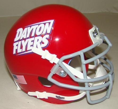 Dayton Flyers Schutt Mini Authentic Football Helmet