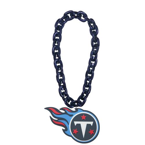 Tennessee Titans NFL Touchdown Fan Chain 10 Inch 3D Foam Magnet Necklace