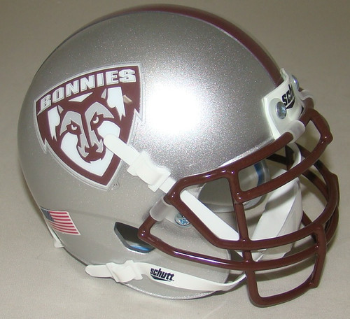 St. Bonaventure Bonnies NCAA Schutt Mini Authentic Football Helmet