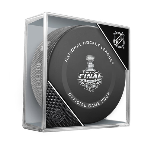 2020 Stanley Cup Finals Tampa Bay Lightning vs. Dallas Stars Official Game Hockey Puck Cubed