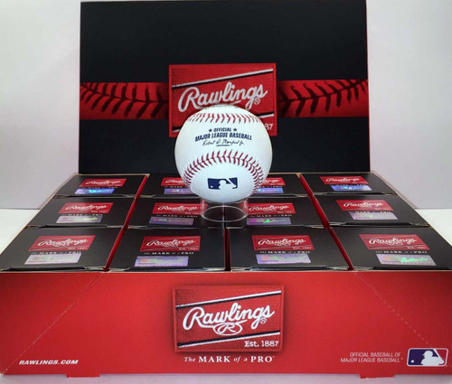 Dozen 2020 World Series MLB Rawlings Official Baseballs