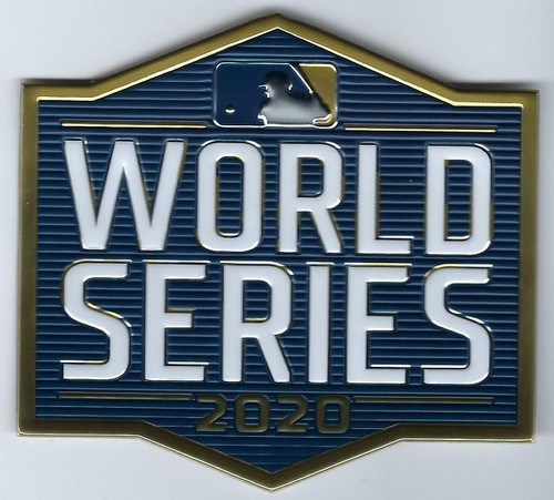 MLB 2020 World Series Collectors Patch