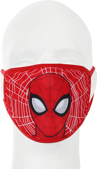 Spiderman Marvel Youth Kids Face Cover Guard Mask Facemask