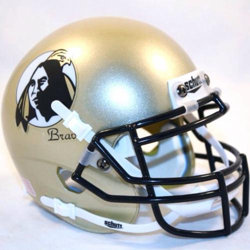 UNC Pembroke Braves XP Schutt Mini Authentic Football Helmet