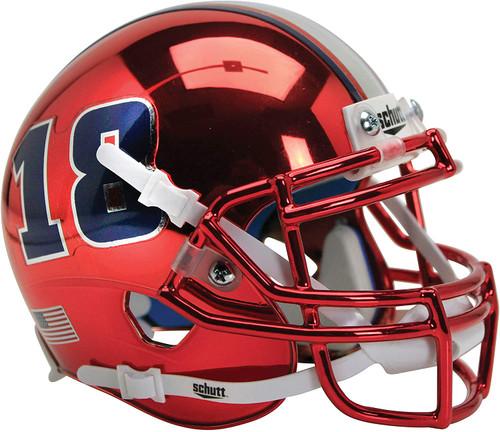 Florida Atlantic Owls Red 18 Schutt Mini Authentic Football Helmet