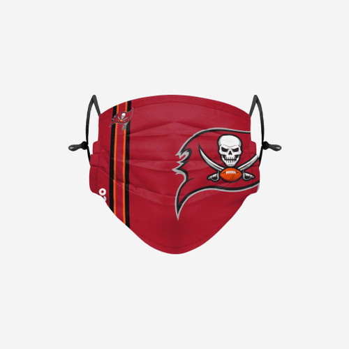 Tampa Bay Buccaneers NFL Official On-Field Sideline Logo Team Face Mask Cover Facemask