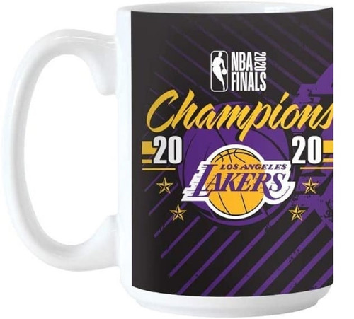 Los Angeles Lakers 2020 NBA Champions 15 Ounce Sublimated Coffee Mug