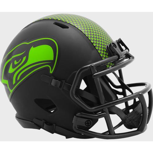 Seattle Seahawks 2020 Black Revolution Speed Mini Football Helmet