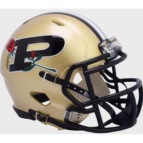 Purdue Boilermakers 2020 Anniversary Rose Bowl Speed Mini Football Helmet