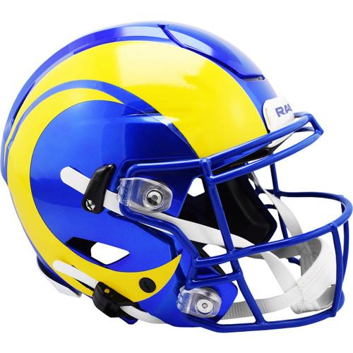 Los Angeles Rams NEW 2020 SpeedFlex Riddell Full Size Authentic Football Helmet - Speed Flex