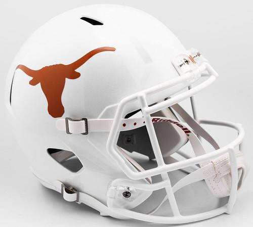 Texas Longhorns SPEED Riddell Full Size Replica Football Helmet