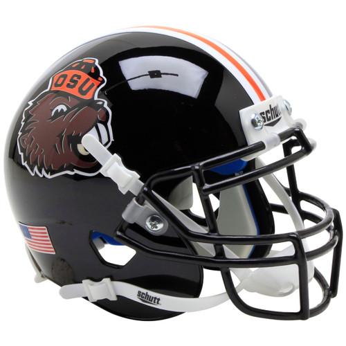 Oregon State Beavers Benny Beaver Schutt Mini Authentic Football Helmet